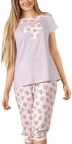 Babella 3055-1 women's pyjama set short sleeved top 3/4