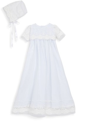 Isabel Garreton Baby's 2-Piece Blessing Christening Gown & Bonnet Set