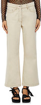 Dries Van Noten Women's Plum Wide-Leg Flared Jeans-Ivory
