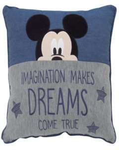 Disney Mickey Mouse Decorative Pillow Bedding
