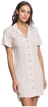 Roxy Secretly In Love (Bruschetta Dotted Lines) Women's Dress