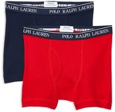Ralph Lauren Boys' Boxer Briefs, 2 Pack - Big Kid
