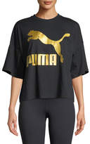 Puma Glam Crewneck Oversized Graphic Tee
