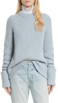 Frame Women's Alpaca Blend Cuffed Raglan Sweater