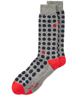 Bar III Men's Apple Dot Socks, Created for Macy's