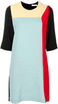 Peter Jensen colour block dress