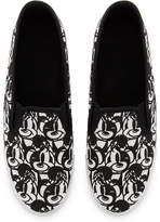 Disney Mickey Mouse Canvas Slip-On Shoes - Adults