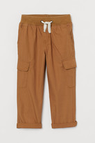 H&M Cotton cargo trousers