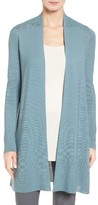Eileen Fisher Women's Long Tencel Knit Cardigan