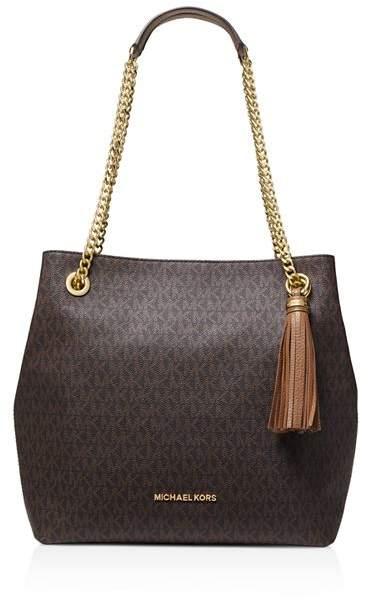 39923ba24d48 Michael Kors Handbag With Chain Handles - Foto Handbag All ...