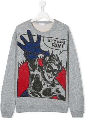 Little Marc Jacobs TEEN graphic print sweatshirt