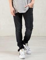 Nudie Jeans Black Black Changes Lean Dean Jeans