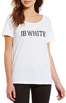 "Heritage J.B. White"" Logo Crew Neck Short Sleeve Tee"