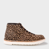 Paul Smith Women's Leopard Print Calf Hair 'Rainey' Boots
