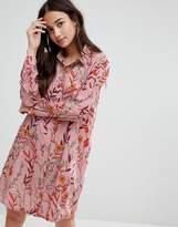 Glamorous Floral Shirt Dress