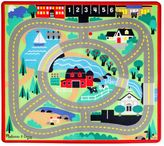Melissa & Doug Round The Town 39-Inch x 36-Inch Rug and Car Set