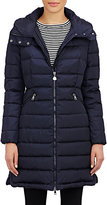 Moncler Women's Hooded Flammette Coat