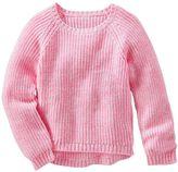 Osh Kosh Toddler Girl High-Low Pullover Sweater