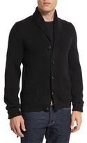 Tom Ford Iconic Shawl-Collar Cardigan, Black
