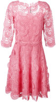 Ermanno Scervino lace shift dress - women - Silk/Polyester - 46
