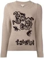 Marc Jacobs beaded detail jumper