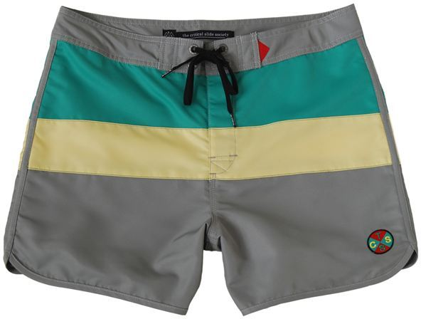 Critical Slide Society Ahoy Boardshort Green