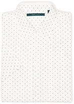 Perry Ellis Short Sleeve Micro Motif Shirt