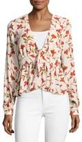 Lovers + Friends Hermosa Printed V-Neck Top