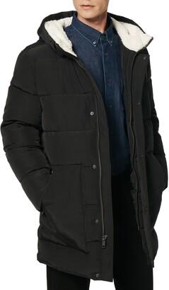 Andrew Marc Water Resistant Puffer Coat
