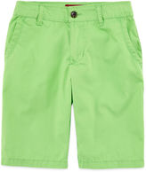 Arizona Poplin Chino Shorts - Boys 8-20, Slim and Husky