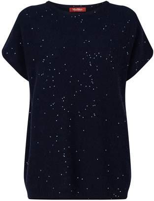 Max Mara Sequin-Embellished Sweater