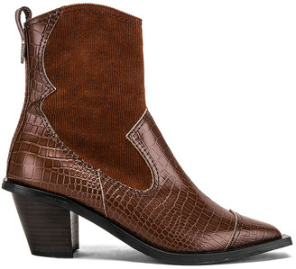 Reike Nen Western Wave Boots in Brown | FWRD