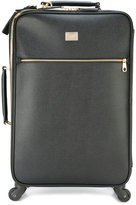 Dolce & Gabbana classic wheel suitcase - women - Leather - One Size