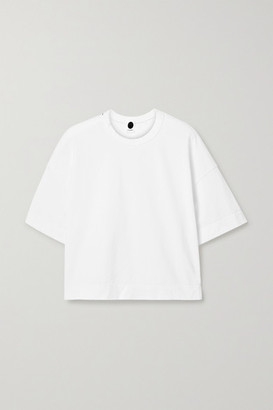 Bassike + Net Sustain Organic Cotton-jersey T-shirt - White