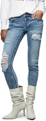 True Religion Halle Flap Destroy Pant