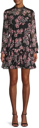 BB Dakota Whiskey Tango Floral Dress
