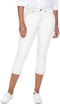 NYDJ Roll-Hem Chloe Cropped Skinny Jeans