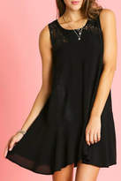 Umgee USA Sleeveless Ruffle Dress