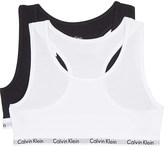 Calvin Klein Modern Cotton bralettes pack of two 4-16 years