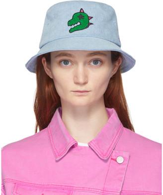 Sjyp Blue Denim Dino Bucket Hat