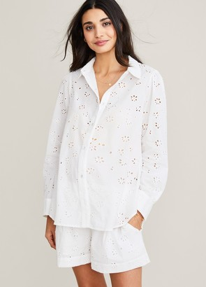 Hatch The Eyelet Blanca Shirt