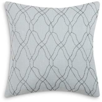 "Charisma Legacy Beaded Decorative Pillow, 18"" x 18"""