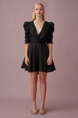 Keepsake I KNOW MINI DRESS Black