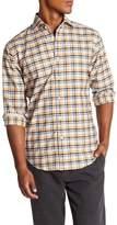 Thomas Dean Plaid Regular Fit Woven Shirt