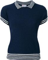 RED Valentino shortsleeved sweater - women - Cotton/Polyamide - XS