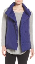 Eileen Fisher Women's Weather Resistant Stand Collar Down Vest