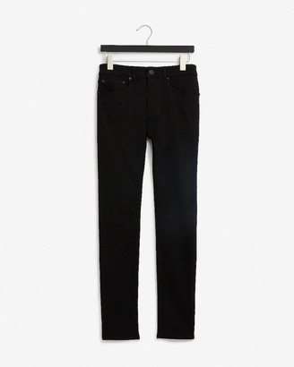 Express Super Skinny Black Rinse Hyper Stretch Jeans