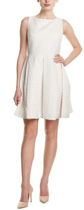 Taylor Dresses Women's Fit and Flare Couture Eyelett