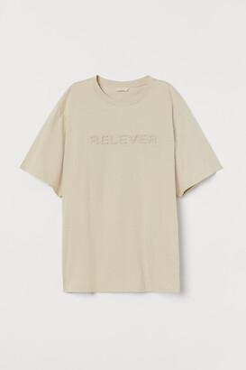 H&M Embossed T-shirt