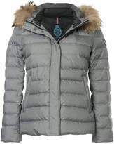 GUILD PRIME hooded padded jacket